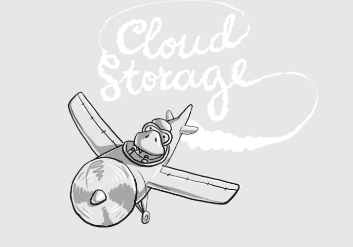 Запуск сайта «Облачного хранилища»