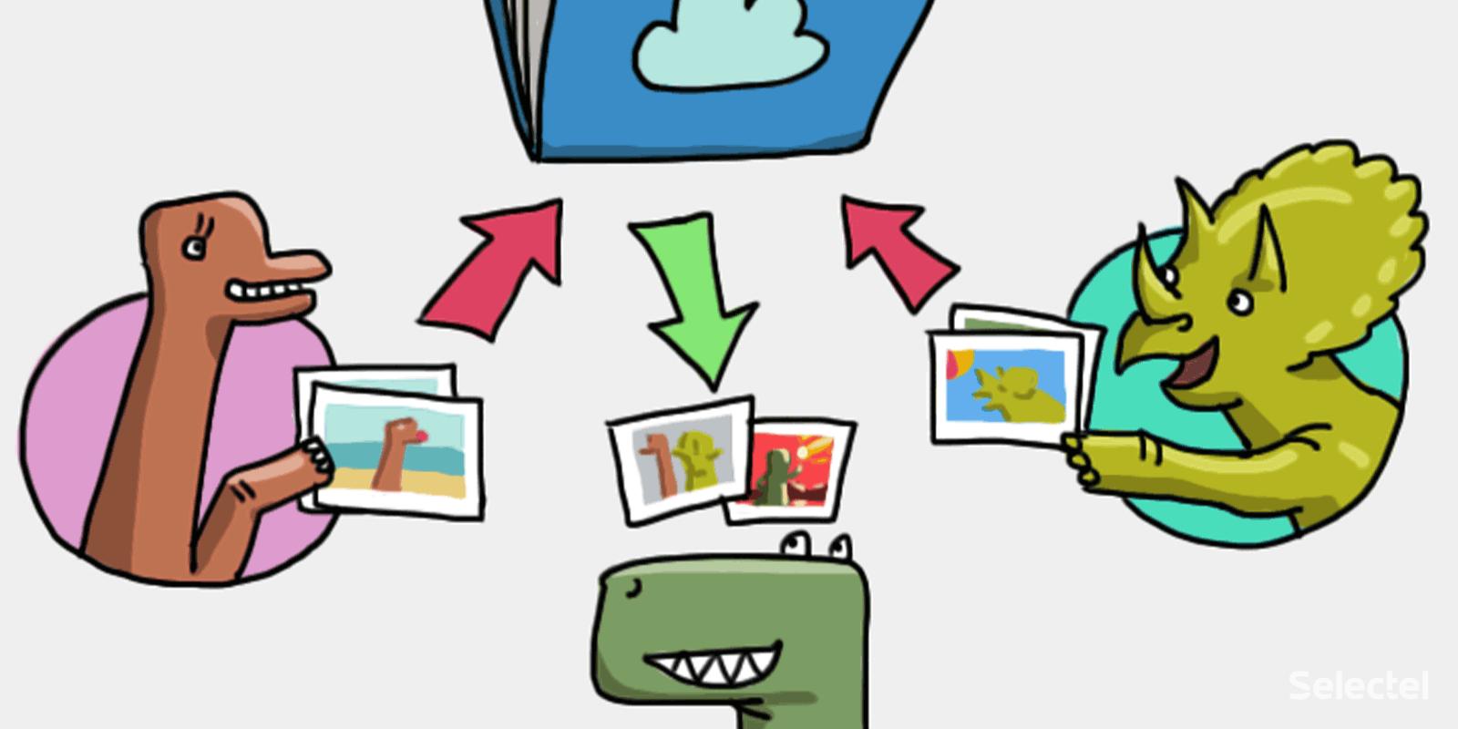 Новая функция облачного хранилища: создание ссылок для загрузки файлов