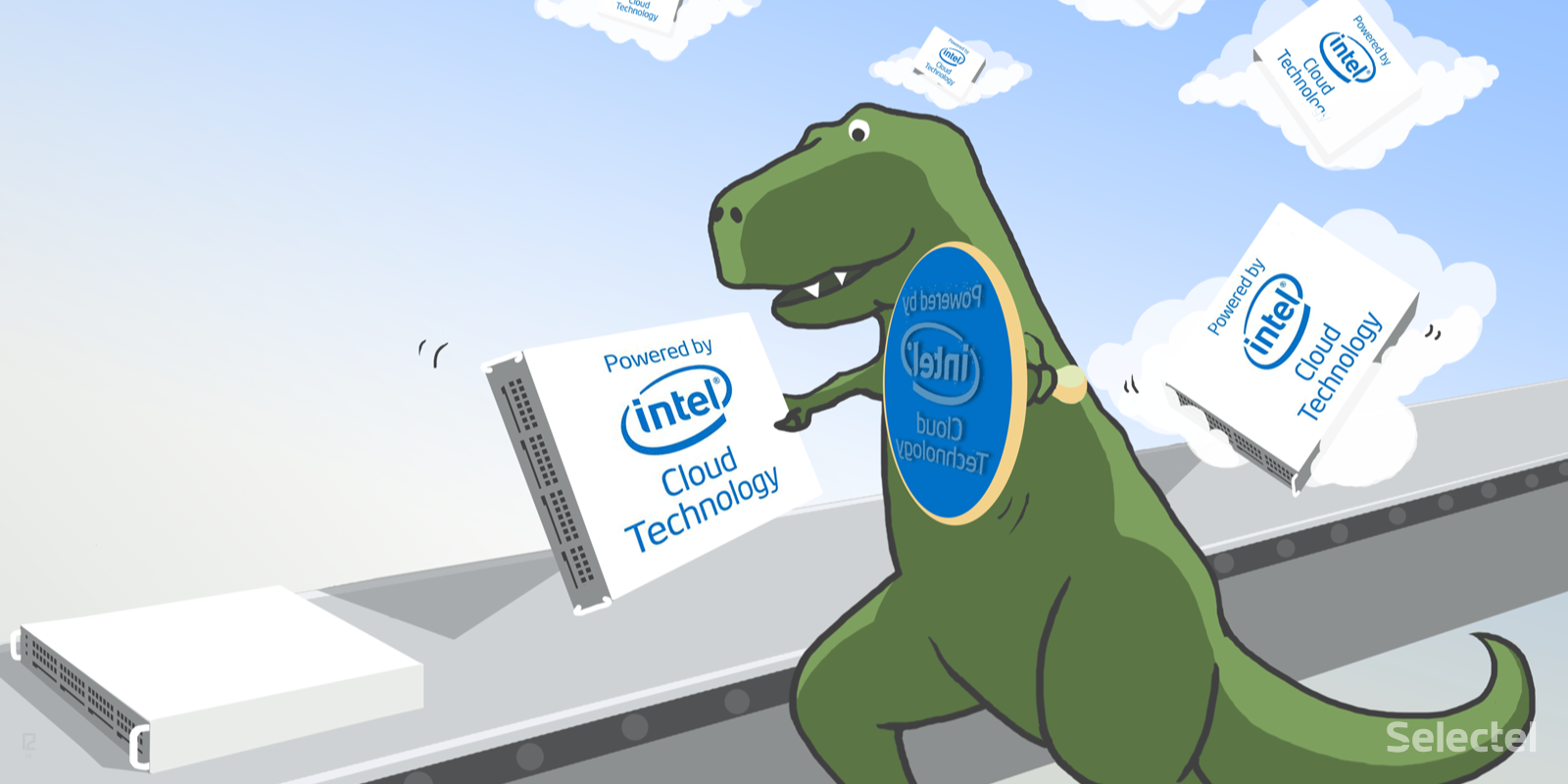 Селектел — участник программы «Intel Cloud Technology»