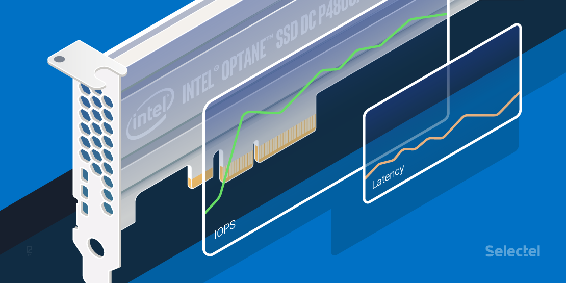 Анализ производительности накопителя Intel Optane SSD 750 GB