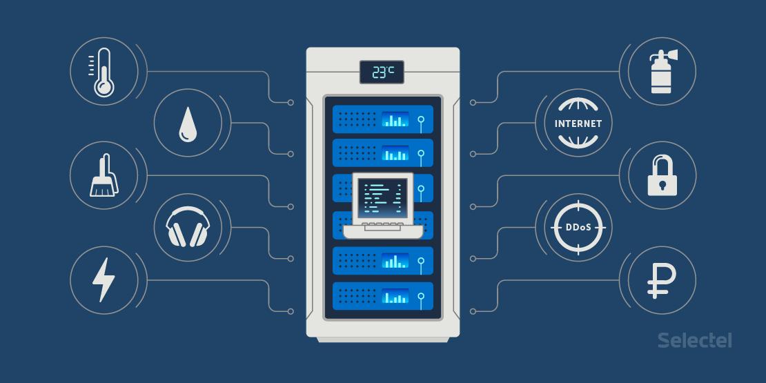 10 причин убрать серверы из офиса в дата-центр