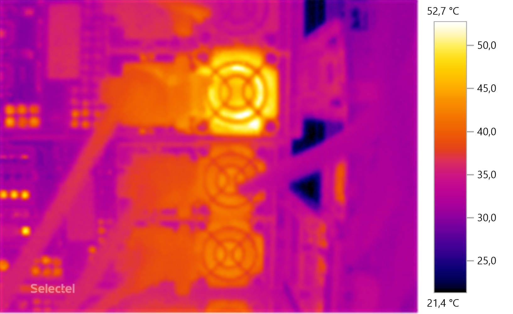 Термоснимок БП