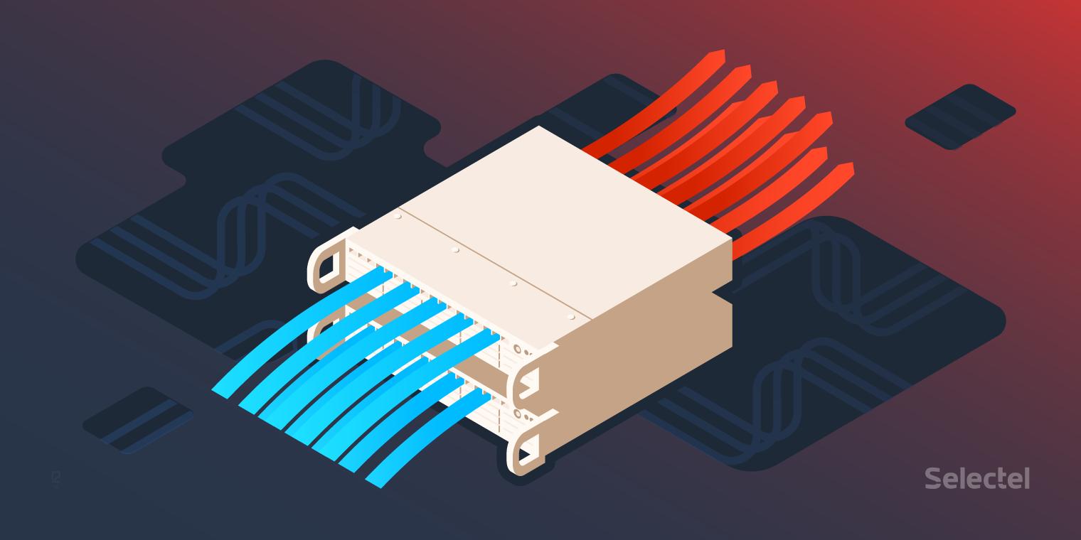 Системы охлаждения в дата-центрах Selectel