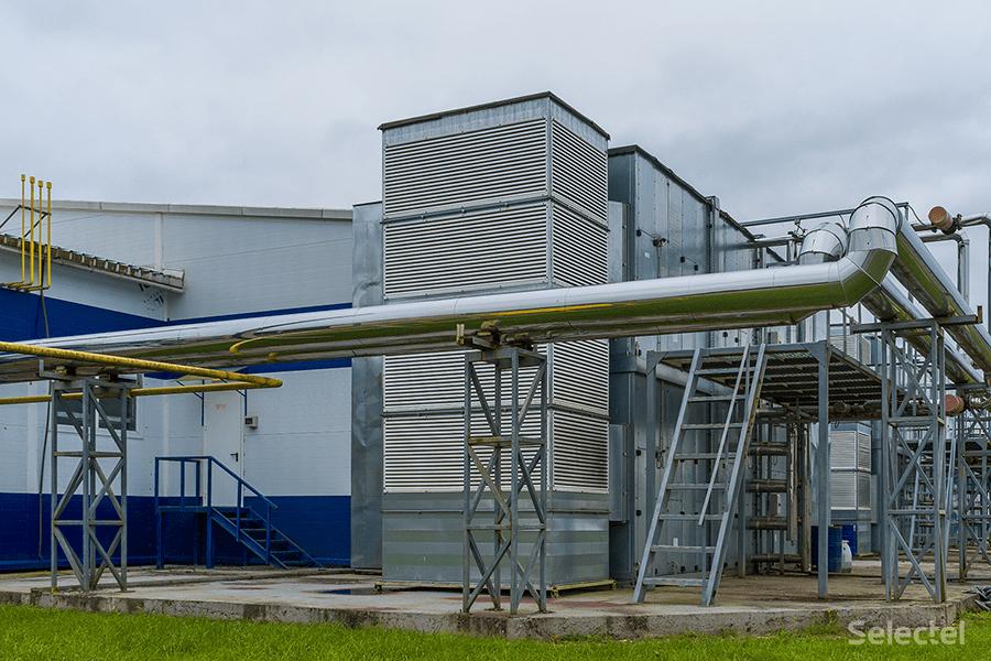 Система охлаждения дата-центра «Дубровка 3» с АБХМ