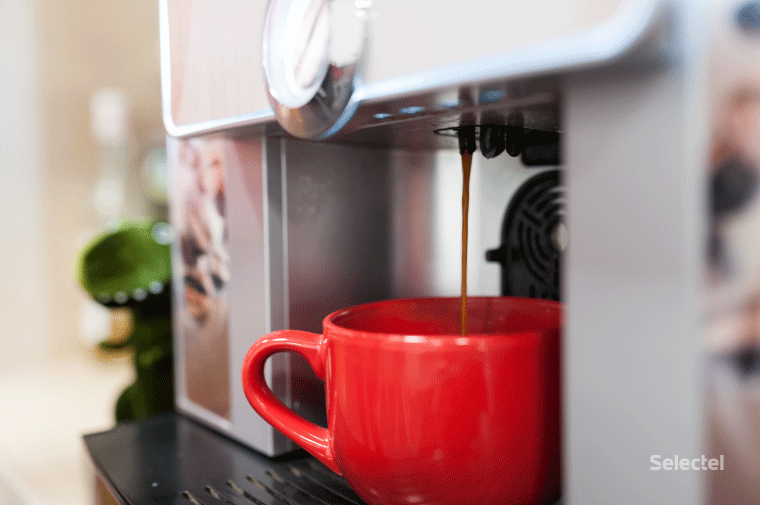 Кружка с кофе