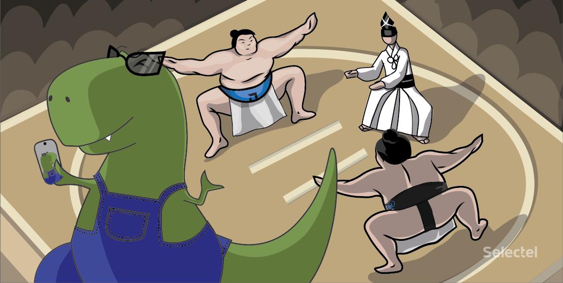 Схватка двух ёкодзун
